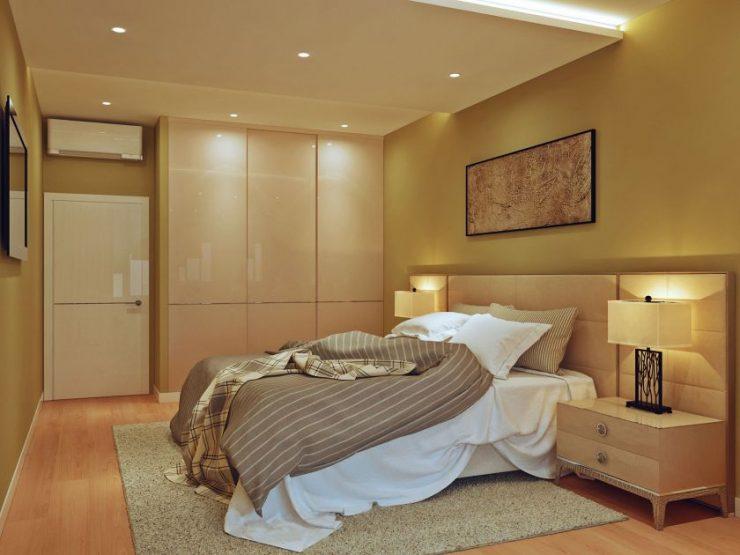 Спальня в квартире 36
