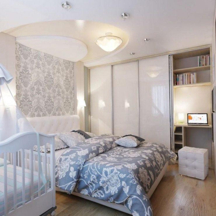 Спальня в квартире 40