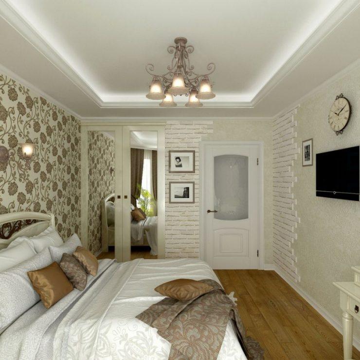 Спальня в квартире 34