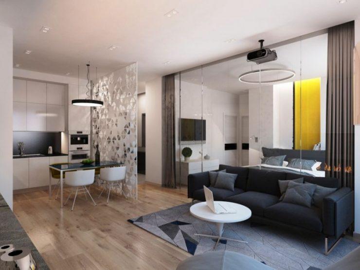 Спальня в квартире 39