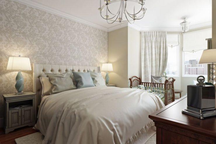 Спальня в квартире 43