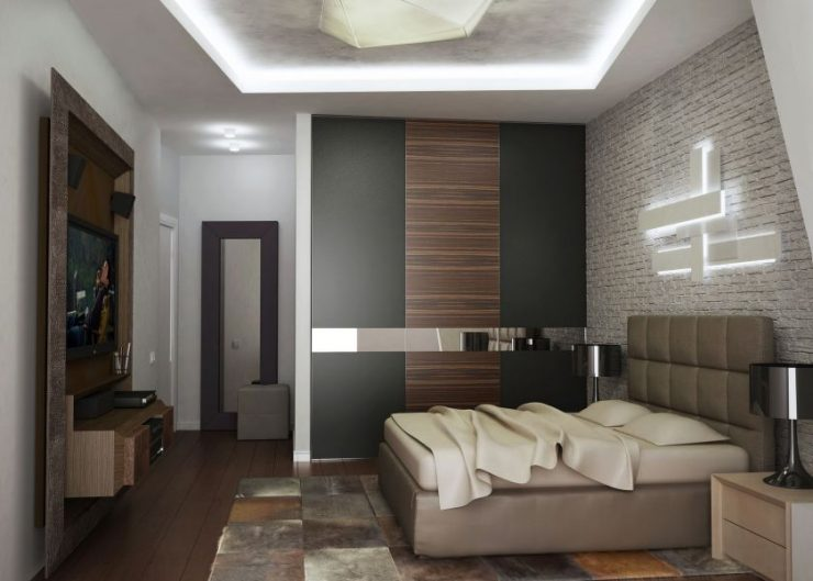 Спальня в квартире 28