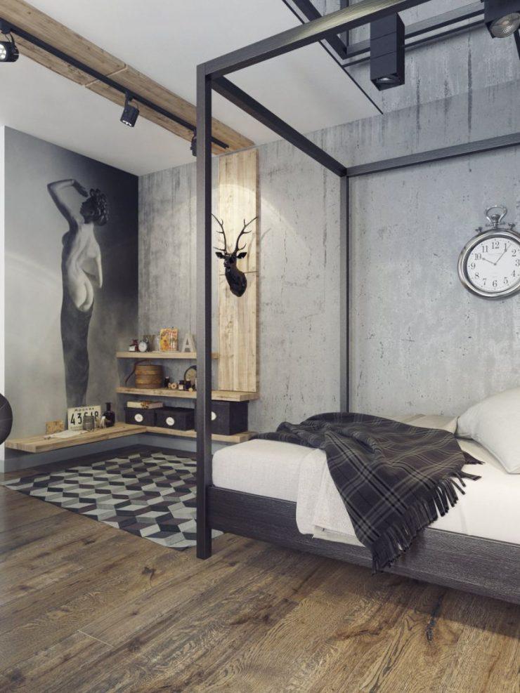 Спальня в квартире 31