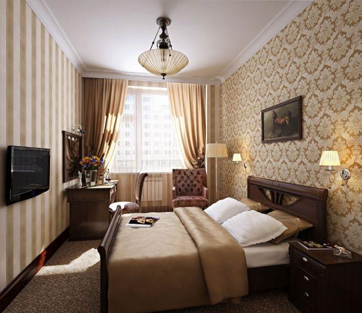 Спальня в квартире 17