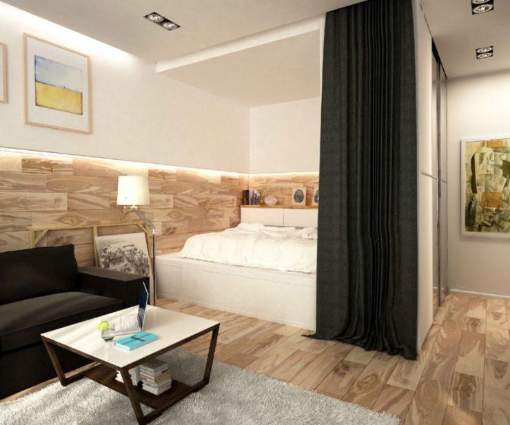 Спальня в квартире 16