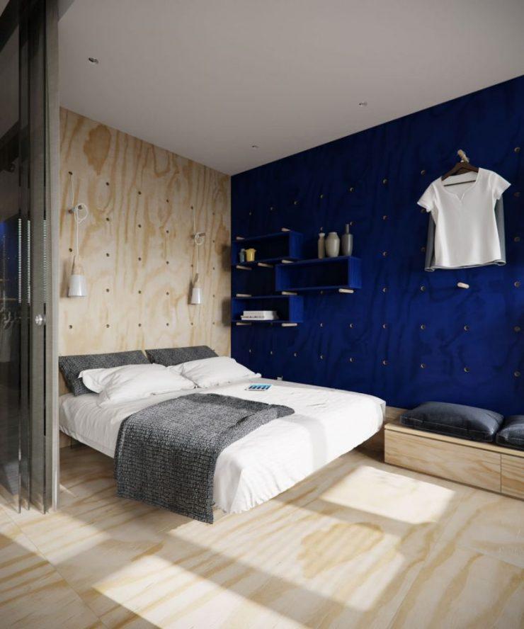 Спальня в квартире 10