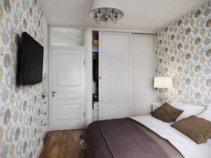 Спальня в квартире 20