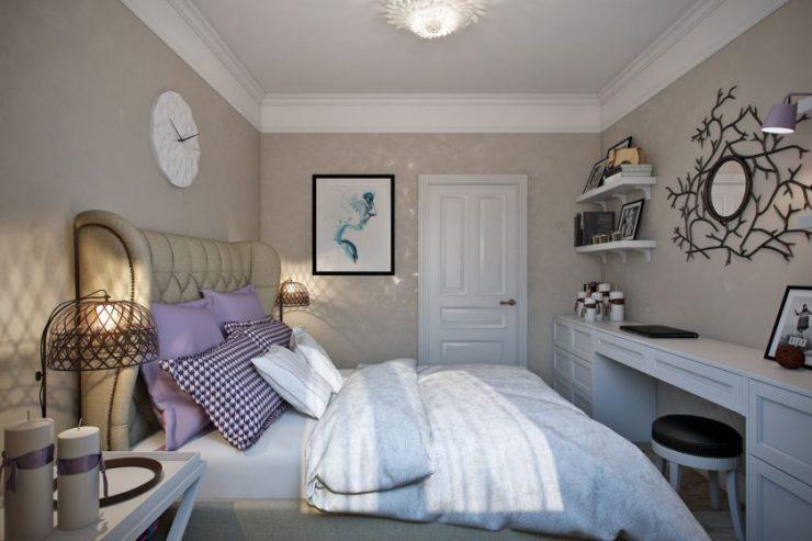 Спальня в квартире 11