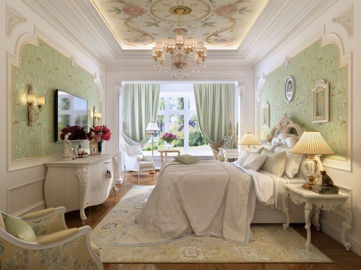Спальня в квартире 15