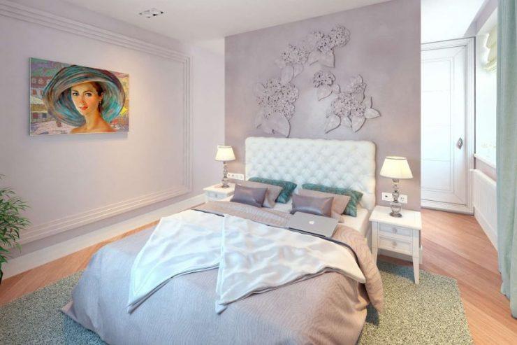 Спальня в квартире 12