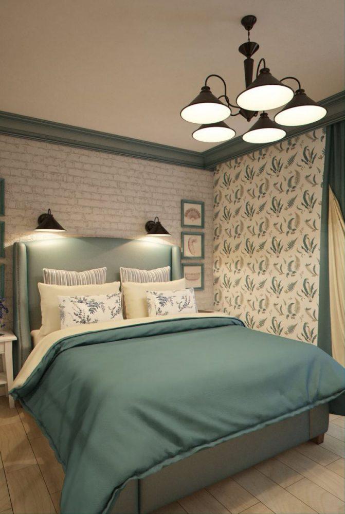 Спальня в квартире 18