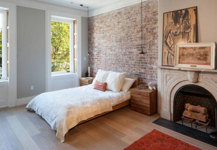Спальня в однокомнатной квартире 21