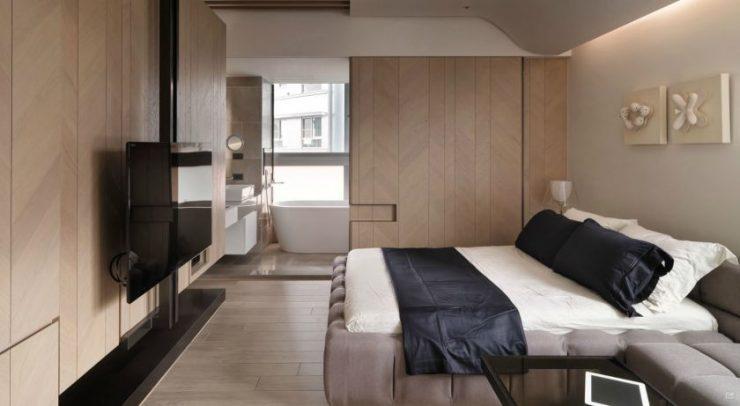 Спальня в квартире 3