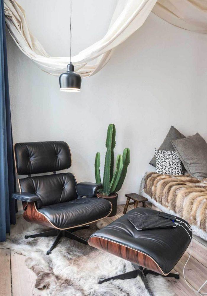 Спальня в квартире 21