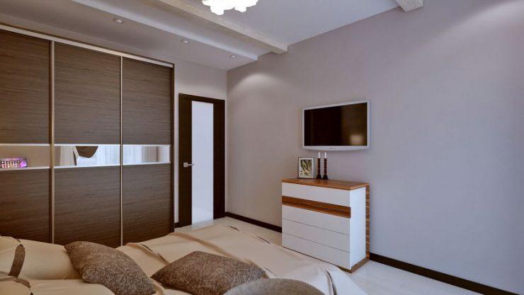 Спальня в квартире 27