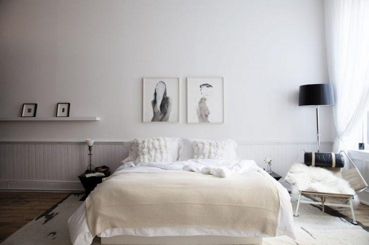 Спальня в квартире 25