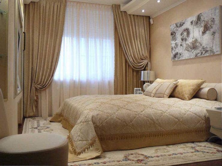 Тюль в спальню 2