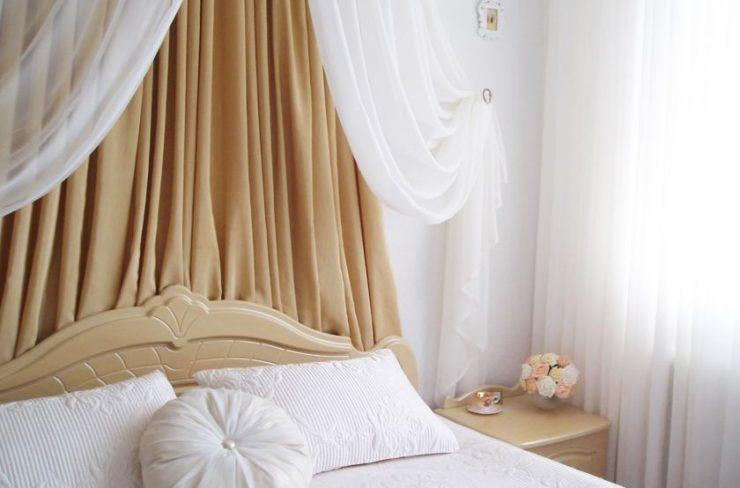 Тюль в спальню 23