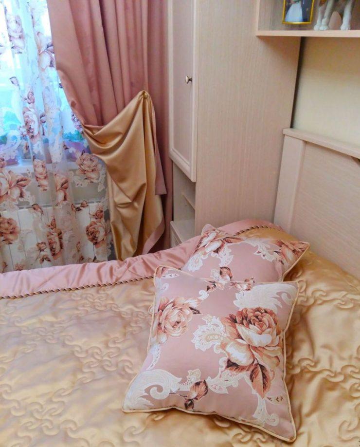 Тюль в спальню 22