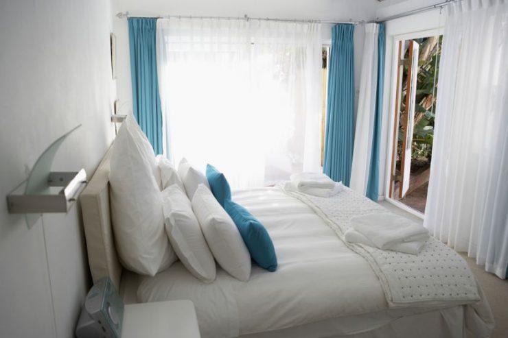 Тюль в спальню 01