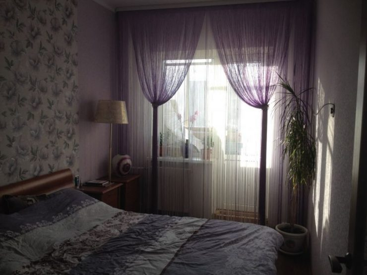 Тюль в спальню 35