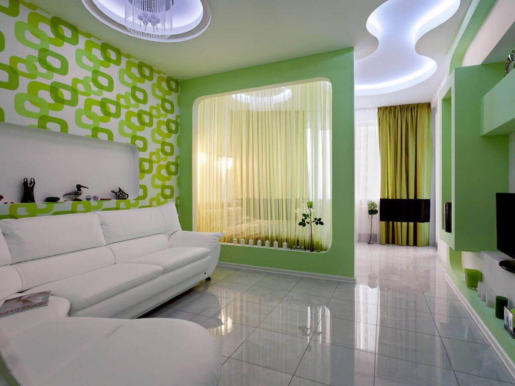 Фото дизайн зала спальня
