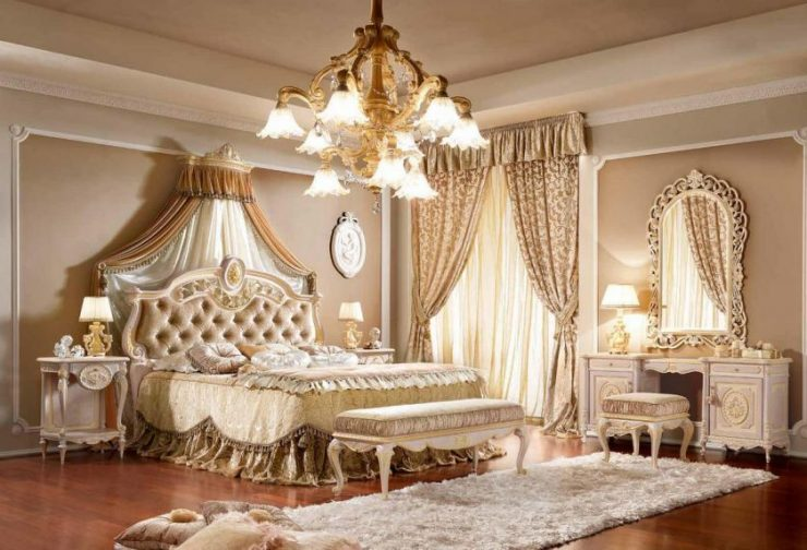 100 for Chambre adulte complete baroque
