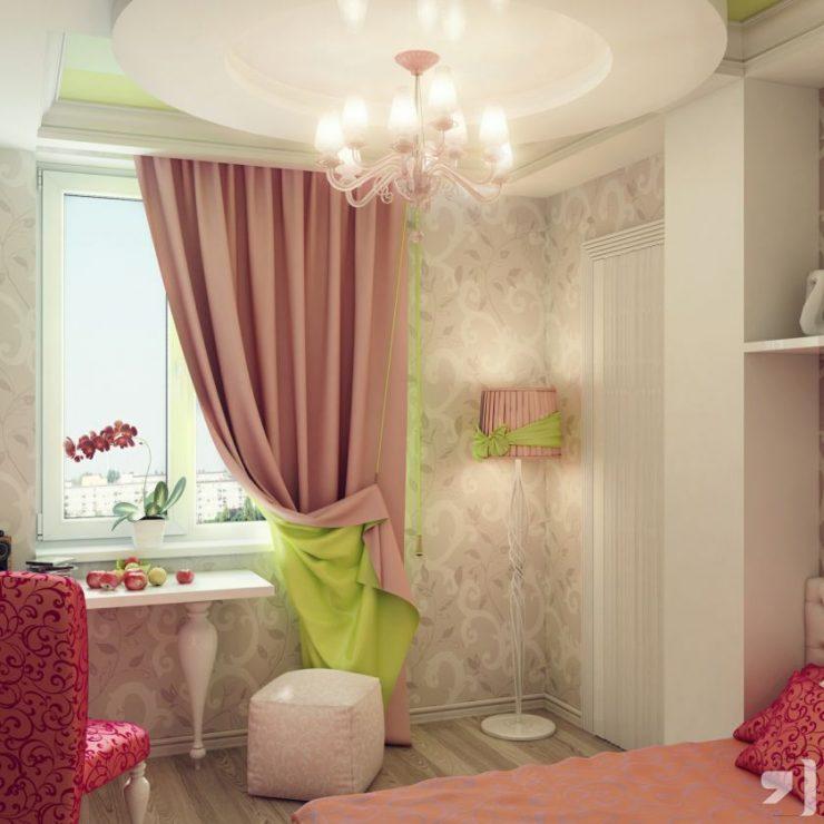 Персиковая спальня 37