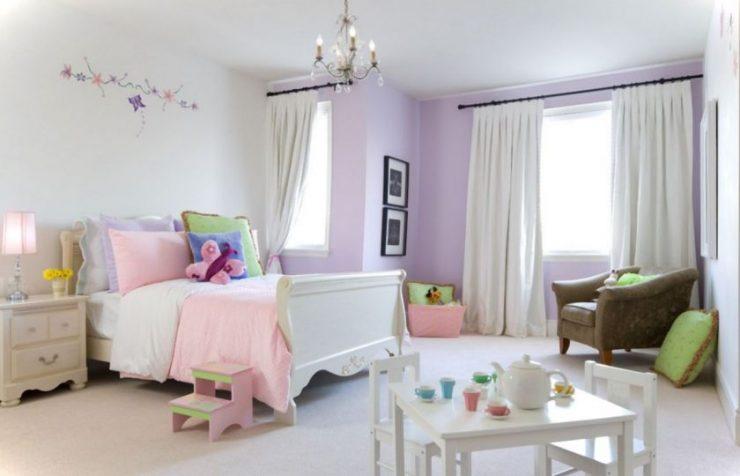 Лиловая спальня 7
