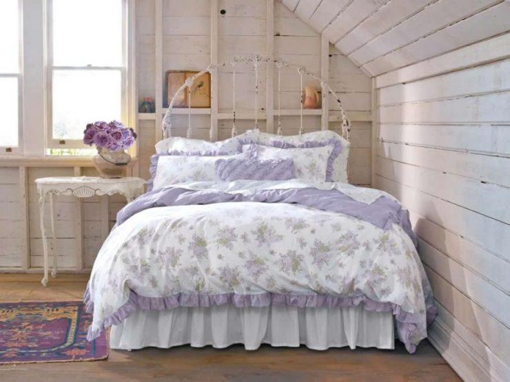 Лиловая спальня 6