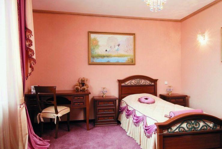 Персиковая спальня 39
