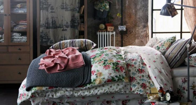 Спальня шебби шик 22