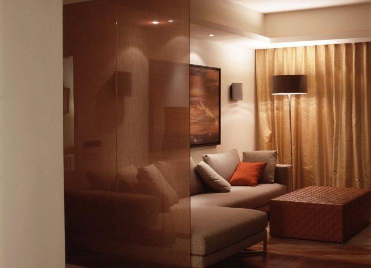 Спальня в однокомнатной квартире 68