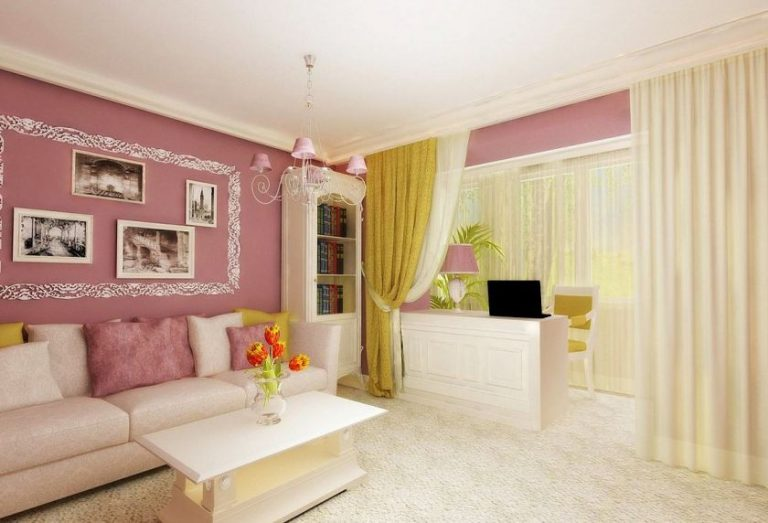 Дизайн гостиной с балконом фото.