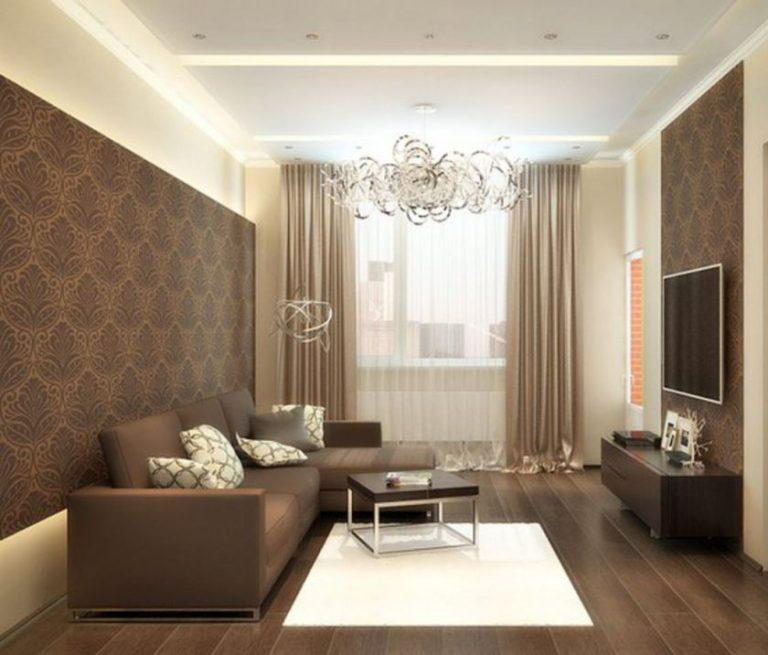 Дизайн интерьера зала 18 кв м в квартире фото