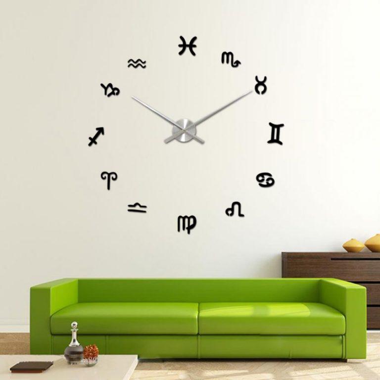 Часы для гостиной своими руками 67