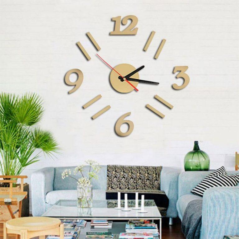Часы для гостиной своими руками 42