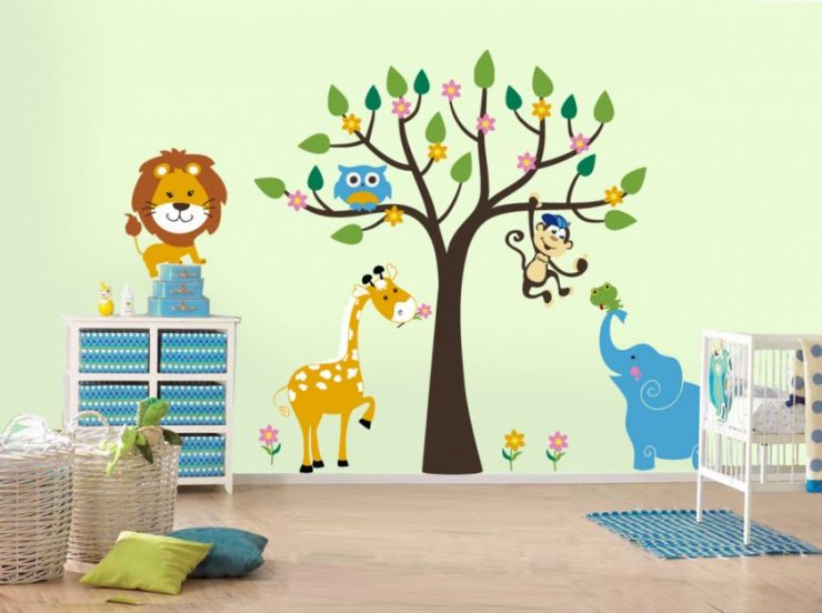 Дерево своими руками рисовать