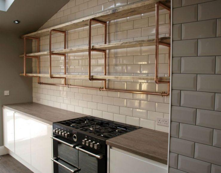 Как задекорировать дымоход в кухне как промыть дымоход водой