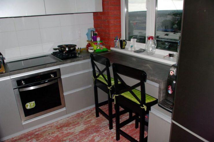 Кухни для маленькой кухни угловые с окном купить кухню кмк