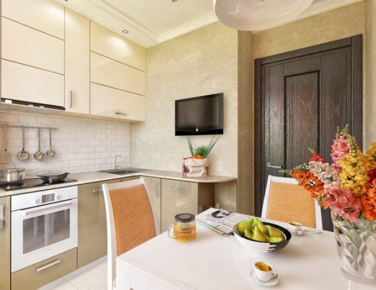 Кухни 9 кв.м. фото интерьера
