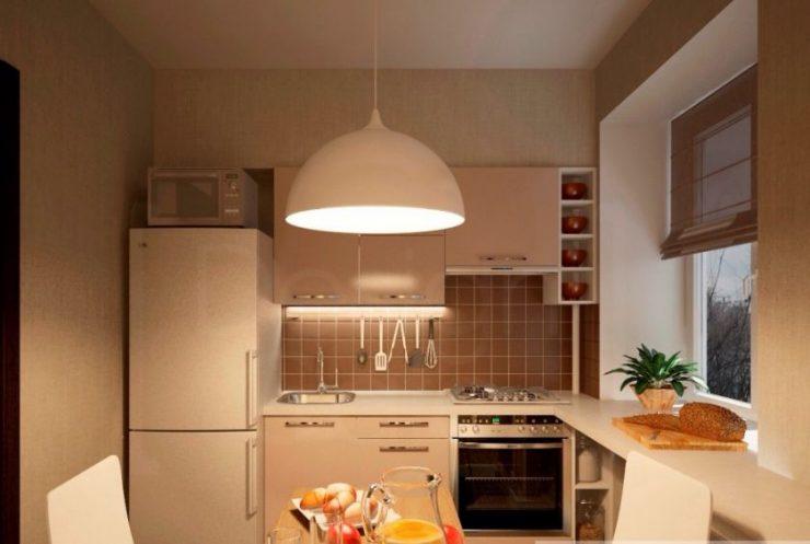 фото ремонт кухни 7 кв м