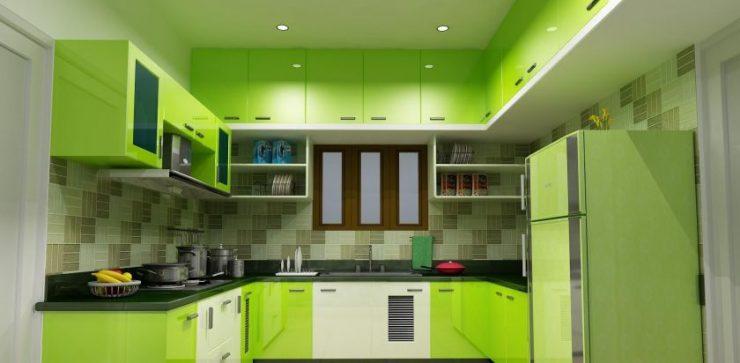 Кухня цвета лайм 95 фото вариантов дизайна