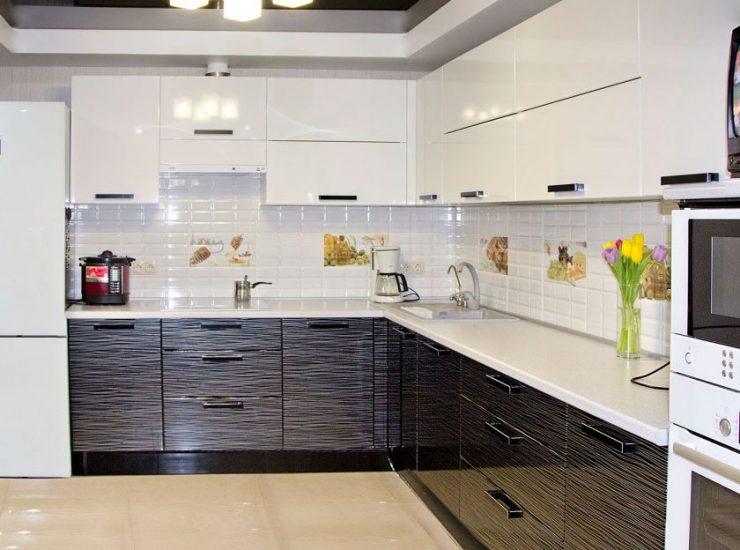 кухонный гарнитур 105 фото лучших новинок в интерьере кухни