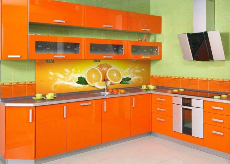 Оранжевая кухня отзывы