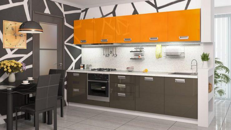Прямые кухни — идеальная планировка и 88 фото стильного дизайна