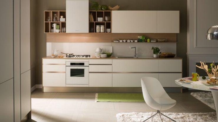 дизайн линейной кухни фото