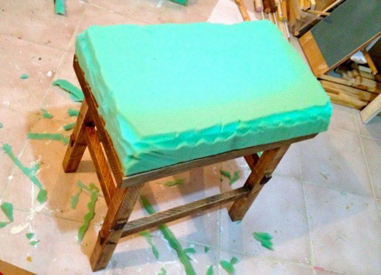 Как обшить стулья своими руками инструкция