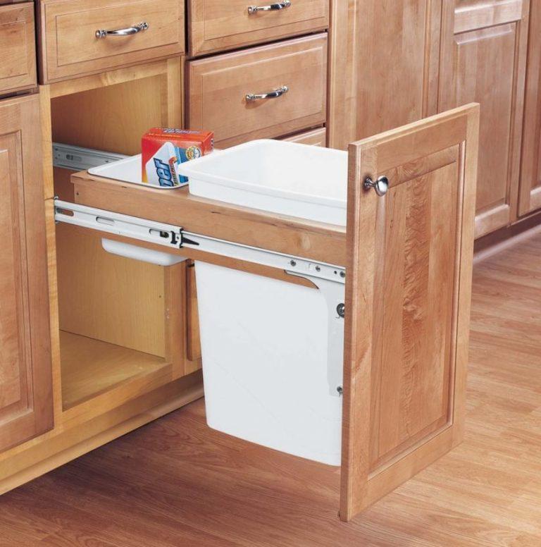 Выкатные ящики для кухни своими руками 54