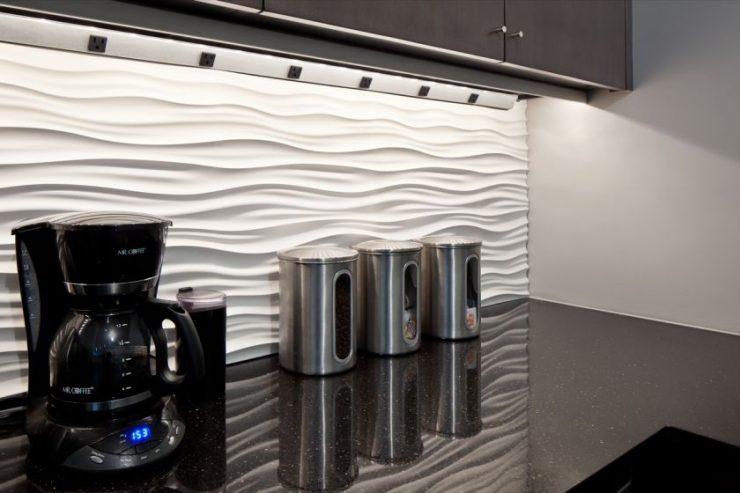 Как сделать декоративные панели на кухне